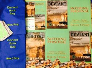 deviant promotion posters